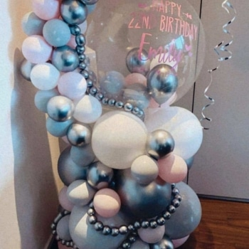 Bubble Balloon Bouquet
