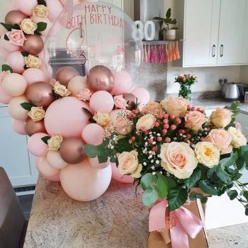 Bubble Balloon Bouquet