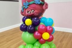 Troll Balloon Arch