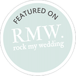 Featured on Rock My Wedding, Rock My Wedding
